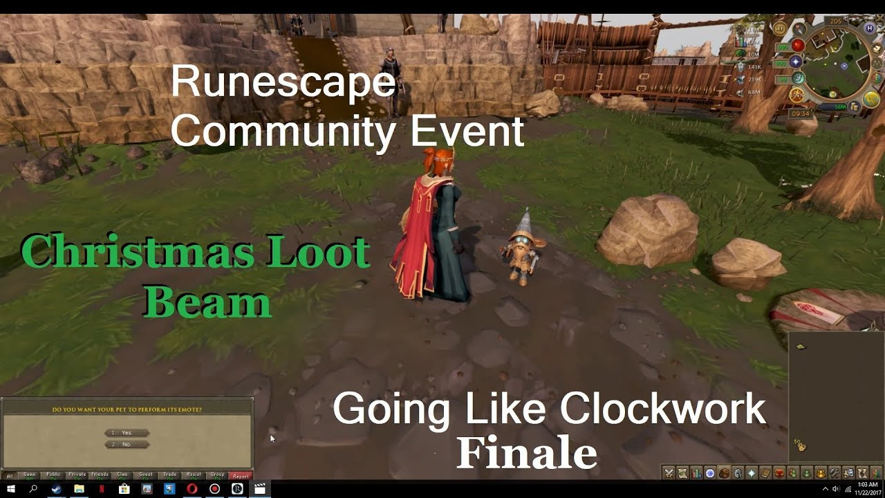 Runescape 2020 Christmas Tokens RS) Runescape Community Event: Going Like Clockwork   Christmas