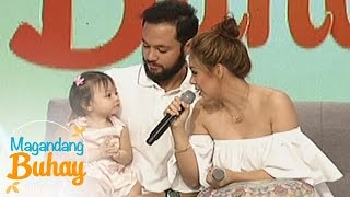 Magandang Buhay: Vino and Empress as parents to Athalia