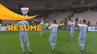 OGC Nice - AS Monaco (1-2)  (1/4 de finale) - Résumé - (OGCN - ASM) / 2017-18