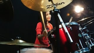 Two Steps From Hell - Heart of Courage Drum Cover by Nur Amira Syahira