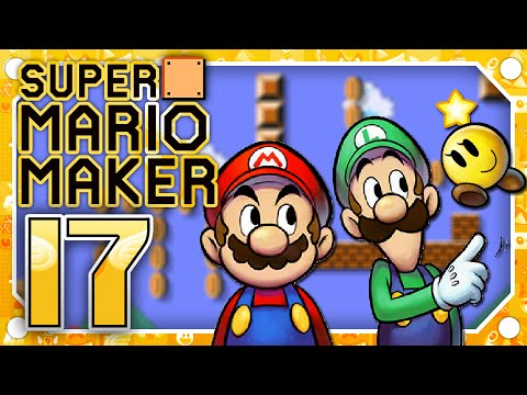 Download] Super Mario Maker Part 17 Mario Luigi Paper Jam Event ...
