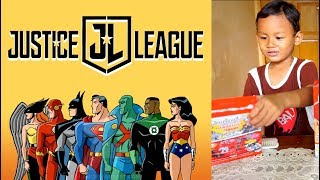 Unboxing Mainan Justice League, Hadiah Susu Zee | Mainan Batman Dan Superman | Justice league Toys