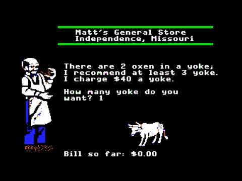★ The Game Replay: The Oregon Trail Part 1