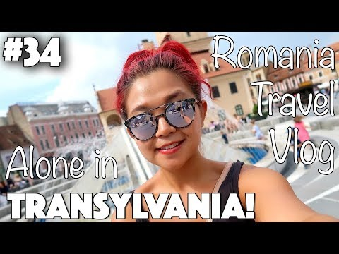 EXPLORING TRANSYLVANIA ALONE (solo female travel!) ♡ Rose Does Europe Vlog #34