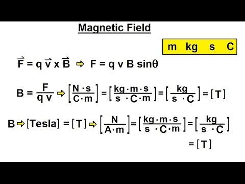Physics - Mechanics: Ch  0 5: Standard Units (21 of 41) Magnetic Field