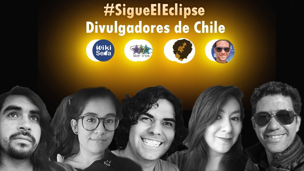 #SigueElEclipse | StarTres, AstroVlog, CharlyLabs, WikiSeba