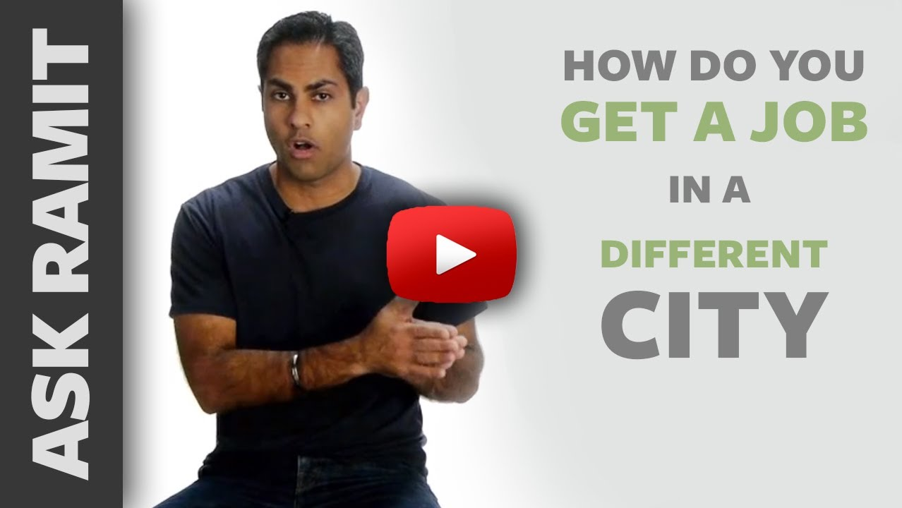 ask ramit how do you get a job in a different city ask ramit how do you get a job in a different city