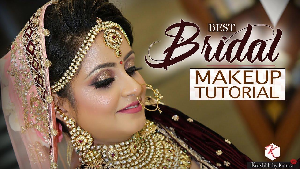 best bridal makeup tutorial | indian bridal makeup 2018 | krushhh by konica