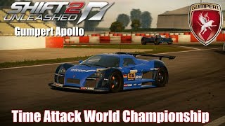 Retro Racing Games : Need For Speed Shift 2 Unleashed - Time Attack World Championship