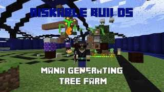Riskable Builds: Botania Mana-Generating Tree Farm (Simple and Easy!)