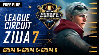 [RO] Free Fire Europe Pro League Season 2 - League Circuit Day 7