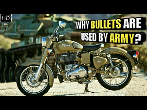 Why Does The Indian Army Use Bullet Bikes? History Of Royal Enfield With The Indian Army (Hindi)