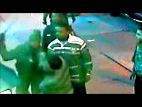 Dolton police assault surveillance video and 911 call