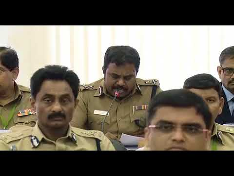 Mr.PARI,I.P.S,Inspector General of Police speech at Collector Conference-2018