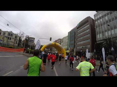 İstanbul Marathon 42km #2014 - GoPro Runner's view