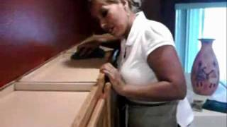 Cleaning Wood Top Cabinets In Kitchen In Spring Cleaning Is A Must!