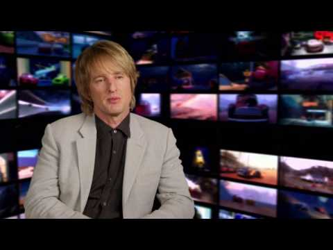 "Cars 3: Owen Wilson ""Lightning McQueen"" Behind the Scenes Movie Interview"