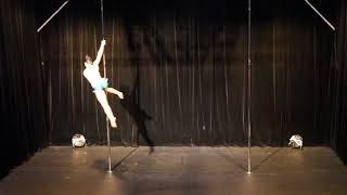 Yamina Saelens - First Place - Pro - Belgian Pole Dance Championship 2018
