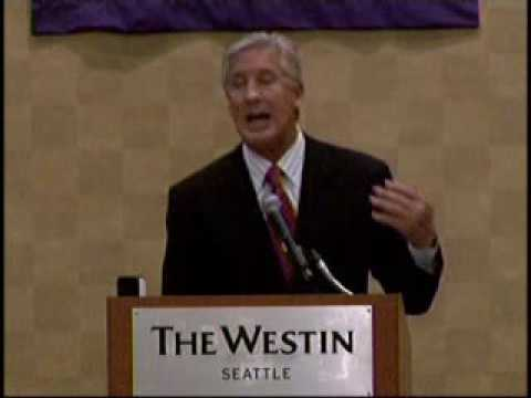 Rotary Luncheon May 5th 2010 Pete Carroll of the Seattle Seahawks