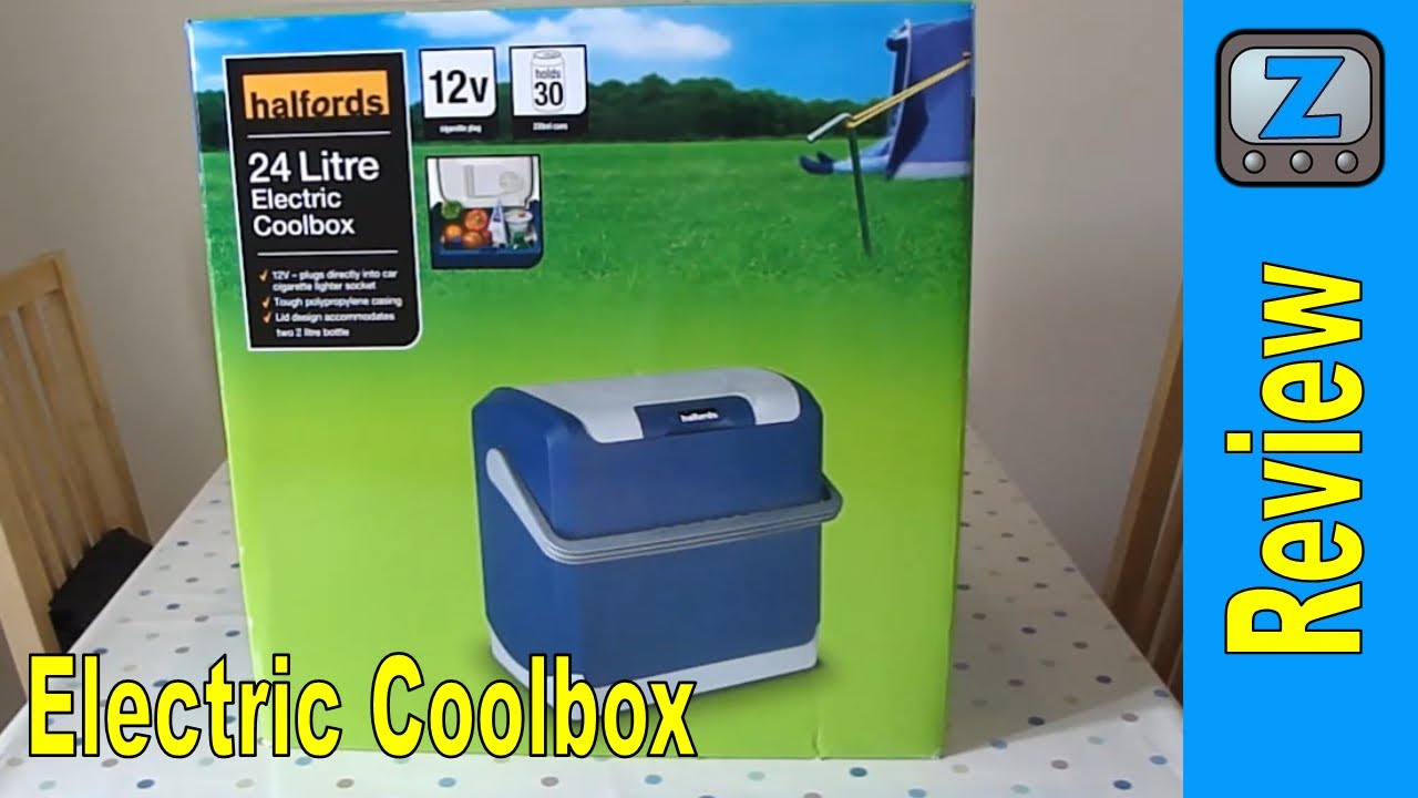 Halfords Electric Coolbox Review