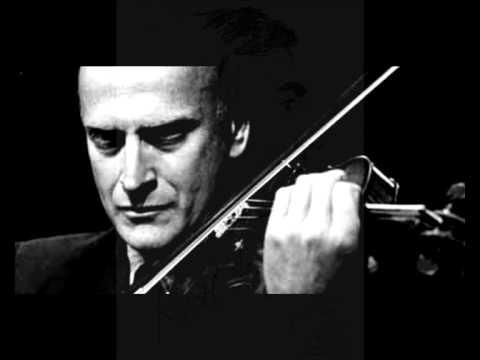 Karol Szymanowski, Notturno e Tarantella, Op. 28 —  Yehudi Menuhin & Marcel Gazelle