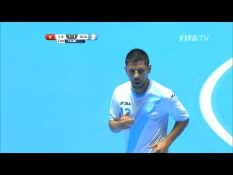 Match 6: Vietnam v Guatemala - FIFA Futsal World Cup 2016