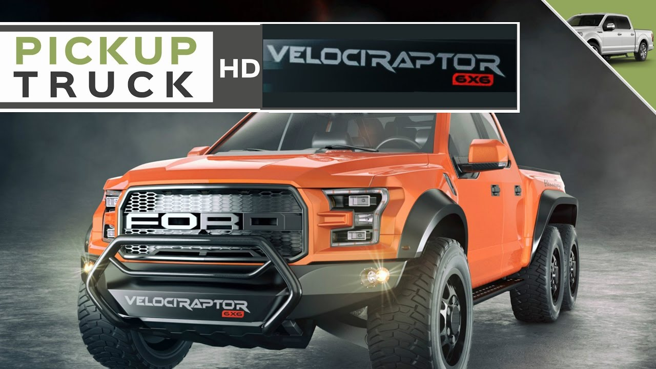 Hennessey VelociRaptor 6x6 Ford F-150 First Look - YouTube