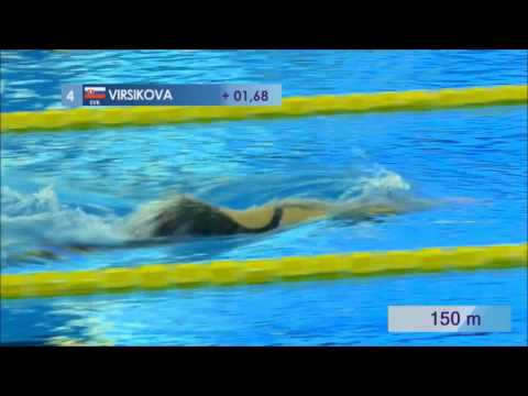 Slovak Finswimming - TOMSK 2017 - 400m women