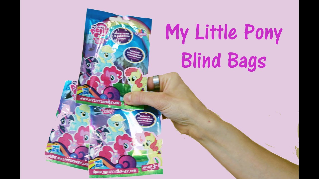 My Little Pony Blind Bags Mlp Mystery Bags 🐴 Youtube