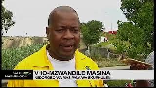 Ekurhuleni to inspect condition of partial dam wall collapse in Benoni
