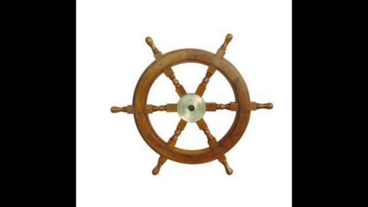 Maritime dekoration maritime steuerr der youtube for Besondere dekoartikel