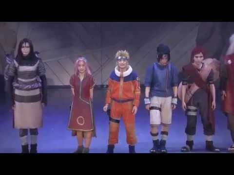 Naruto Naruto the Musical ฉากจบด้วยเพลง Hikari Oikakete