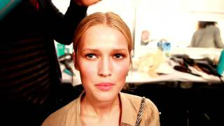 Interview with model Toni Garrn, New York Fashion Week SS 2012
