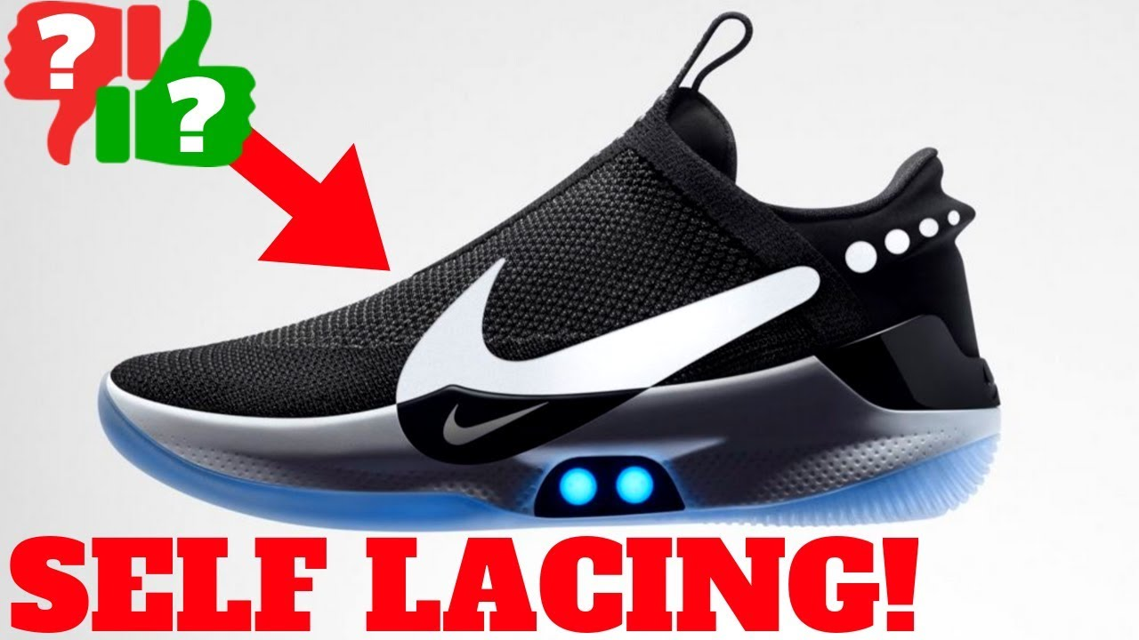a5e91f49378273 Nike Adapt BB First Thoughts! 2019 Self-Lacing Sneaker Pros   Cons ...