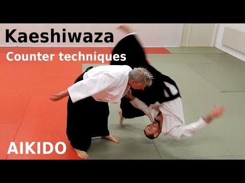 Counter techniques, KAESHI WAZA, against aikido techniques, by Stefan Stenudd, 7 dan Aikikai shihan