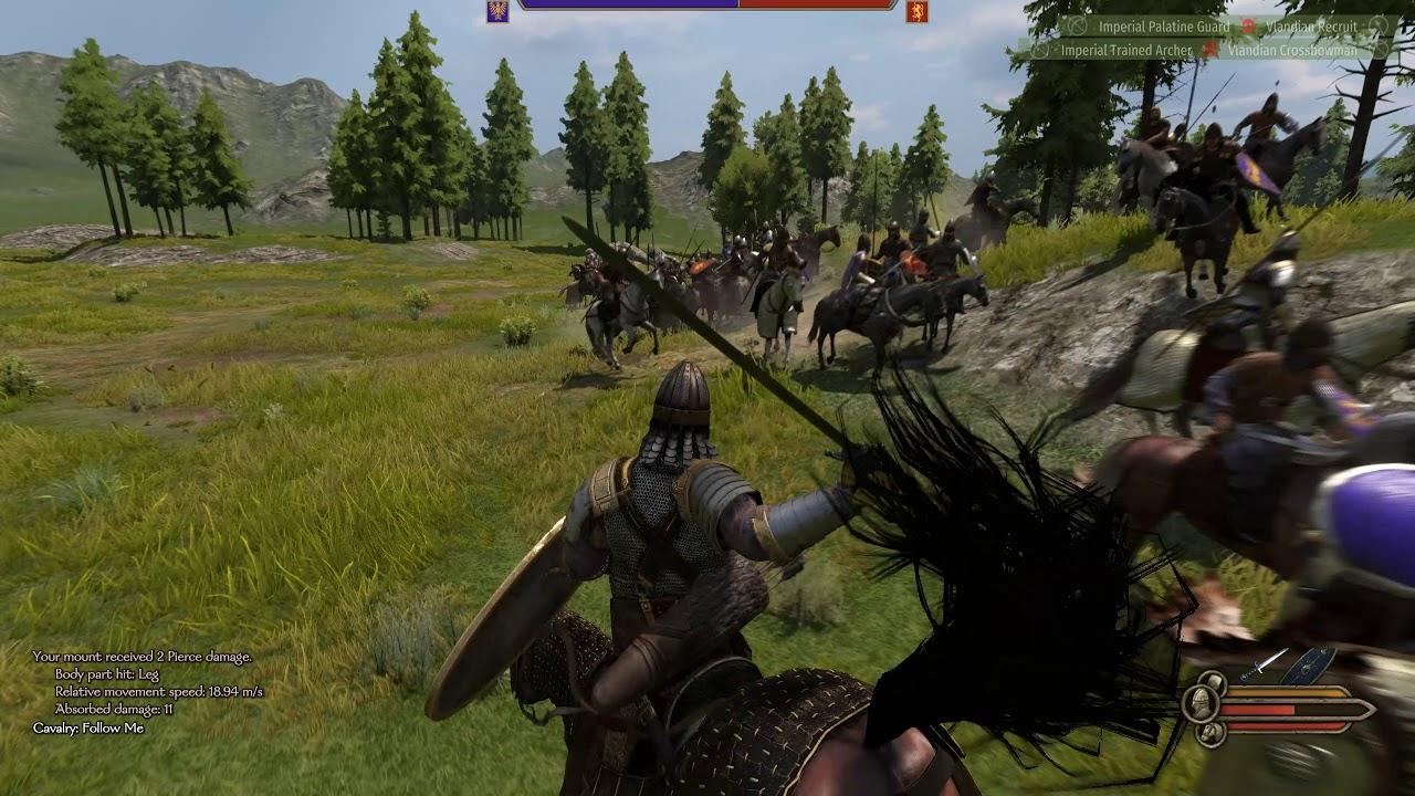 Mount & Blade II Bannerlord: Empire VS Vlandia Big Battle