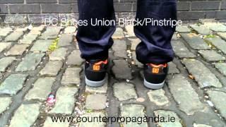 Counter Propaganda - DC Shoes Union Black/Pinstripe