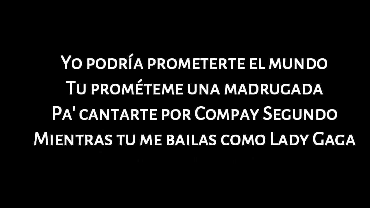 Melendi La Promesa Letra Youtube