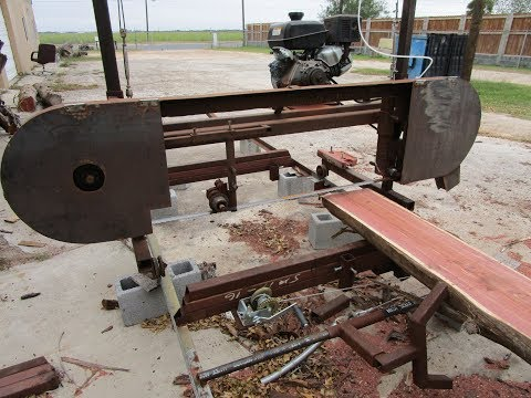 Homemade Sawmill  Bandmill Video Compilation The Good The Bad The Ugly