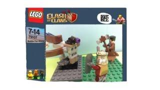 Lego Clash Of Clans X bow Battle Custom Set