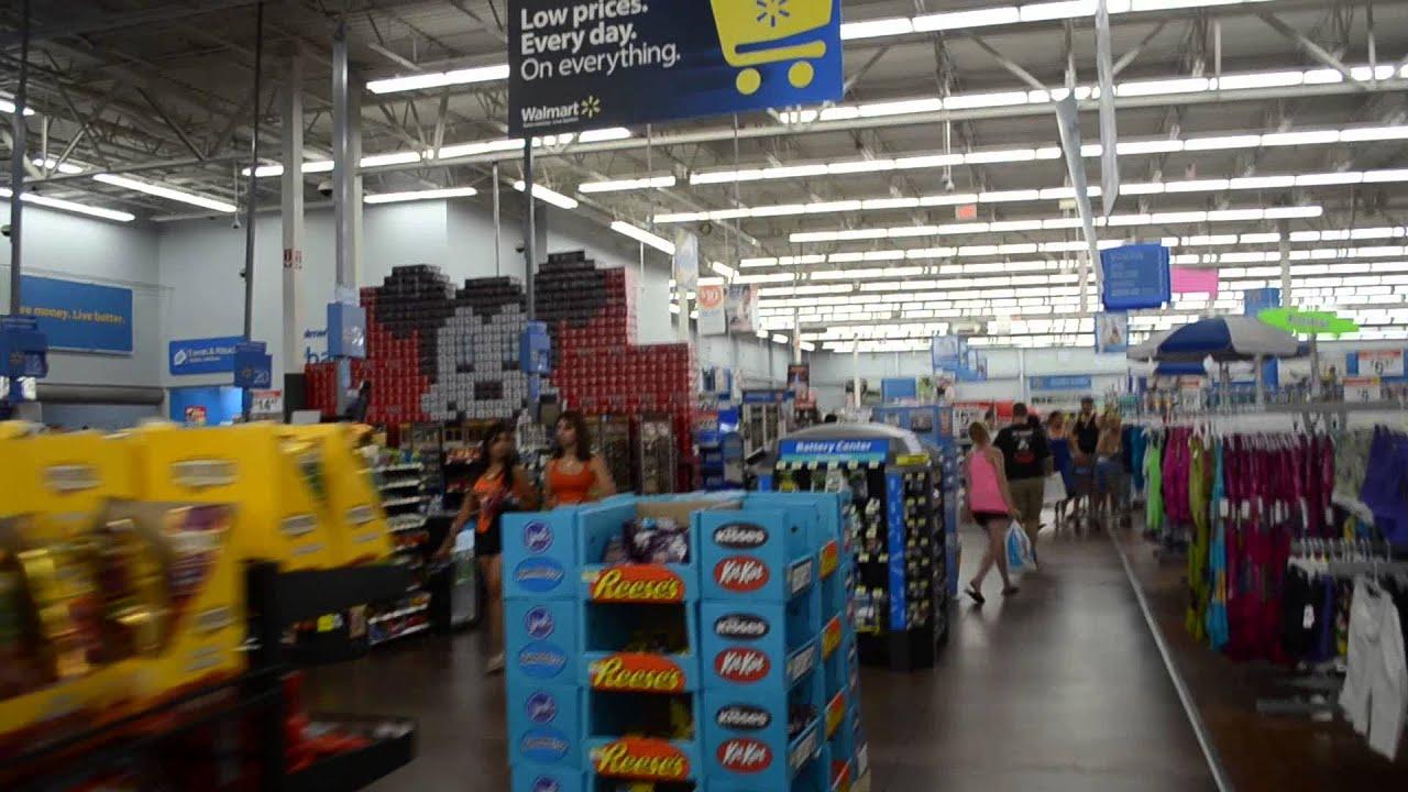 Walmart Em Kissimmee Orlando Flórida Youtube