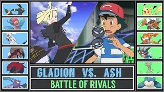 Ash vs. Gladion (Pokémon Ultra Sun/Moon) - Alola Battle of Rivals