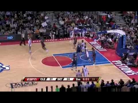 NBA 2008-09 season Pistons vs Cavaliers recap 31st Jan 09