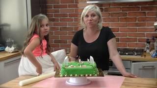 Tort boisko, tort dla chłopca