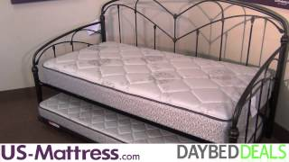 Fashion Bed Group Pomona Daybed With Free Mattress