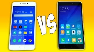 Meizu M5 Note vs Xiaomi Redmi Note 4X - ПОЛНОЕ СРАВНЕНИЕ!