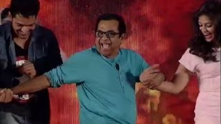 Brahmi Funny Dance @ Geethanjali Audio Launch