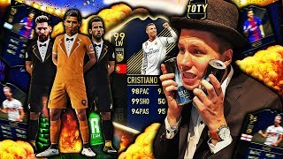 RONALDO, KANE & MESSI TEAM OF THE YEAR PAKKEÅPNING!! 🎩💥 TRE WALKOUTS I SAMME PAKKE?!