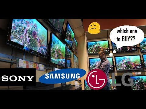 which LCD,LED TV to buy SONY vs SAMSUNG vs LG Explained in 3 minutes