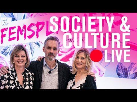 Jordan Peterson, Christina Hoff Sommers, and Danielle Crittenden (The Femsplainers)   LIVE STREAM